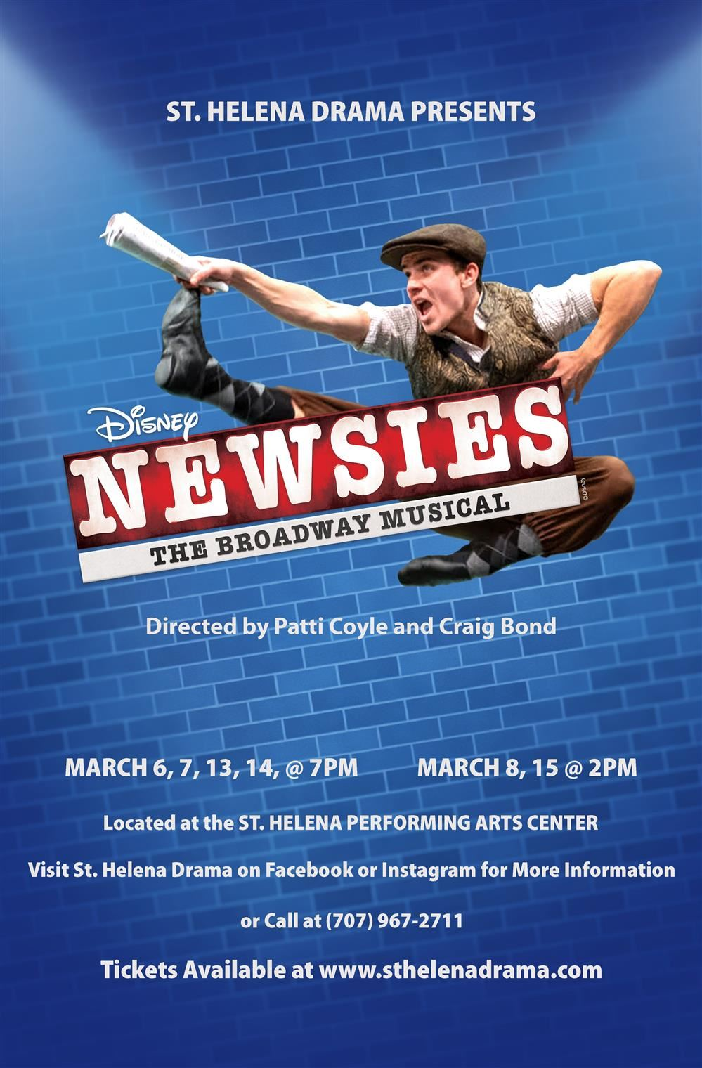 "SHHS Spring Musical ""Newsies"" / Buy Your Tickets Now!"